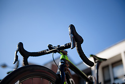 Cylance Pro Cycling riding the new FSA groupset at Le Samyn des Dames 2018 - a 103 km road race on February 27, 2018, from Quaregnon to Dour, Belgium. (Photo by Sean Robinson/Velofocus.com)