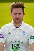 Liam Dawson of Hampshire during the 2019 press day for Hampshire County Cricket Club at the Ageas Bowl, Southampton, United Kingdom on 27 March 2019.