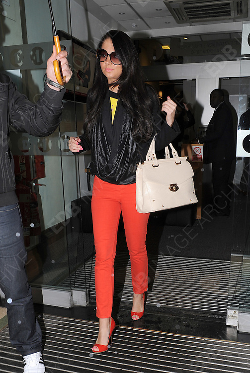 25.APRIL.2012. LONDON<br /> <br /> TULISA CONTOSTAVLOS AT THE STUDIOS OF BBC RADIO ONE, LONDON<br /> <br /> BYLINE: EDBIMAGEARCHIVE.COM<br /> <br /> *THIS IMAGE IS STRICTLY FOR UK NEWSPAPERS AND MAGAZINES ONLY*<br /> *FOR WORLD WIDE SALES AND WEB USE PLEASE CONTACT EDBIMAGEARCHIVE - 0208 954 5968*