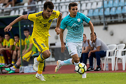 Dejan Petrovic of Slovenia during football match between Slovenia and Kazahstan in Qualifying round for European Under-21 Championship 2019, on September 11, 2018 in Mestni Stadium Ptuj, Slovenija, 2018. Photo Grega Valancic