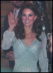 February 27, 2019 - Belfast, United Kingdom - Image licensed to i-Images Picture Agency. 27/02/2019. Belfast , United Kingdom. The Duchess of Cambridge leaving the Belfast Empire Hall on the first day of her two day trip to Northern Ireland. (Credit Image: © Stephen Lock/i-Images via ZUMA Press)