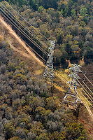 Transmission lines in Bastrop, TX owned by LCRA