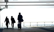 Travelers enter the airport hotel at Denver International Airport in Denver, Colorado U.S. November 3, 2017. REUTERS/Rick Wilking