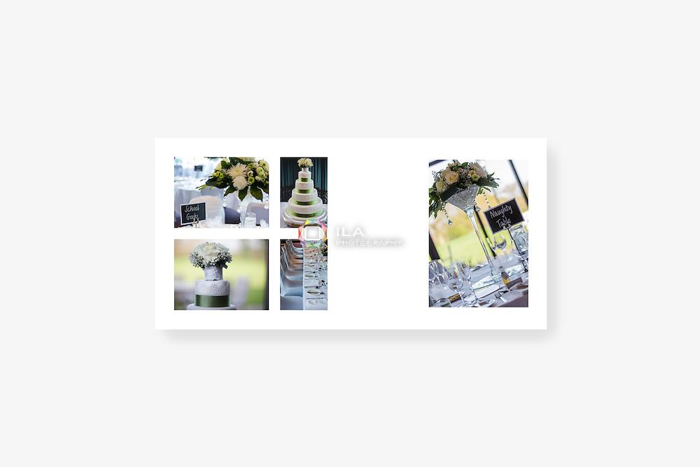 Wedding album spread designs by Stockport wedding photographer Camila Clarke   ilaphotography