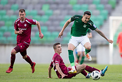 Jason Alan Davidson of NK Olimpija Ljubljana during football match between NK Olimpija Ljubljana and NK Triglav Kranj in Round #31 of Prva liga Telekom Slovenije 2017/18, on May 6, 2018 in SRC Stozice, Ljubljana, Slovenia. Photo by Urban Urbanc / Sportida
