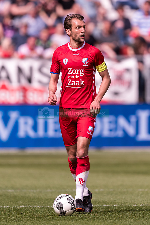 Willem Janssen of FC Utrecht during the Dutch Eredivisie match between FC Utrecht and ADO Den Haag at the Galgenwaard Stadium on April 08, 2018 in Utrecht, The Netherlands