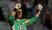 20120527: PORTO ALEGRE, RS, BRAZIL -Goalkeeper Bruno of  S.E. Palmeiras during Palmeiras Vs Gremio FPA team match for Brazilian Championship. <br />