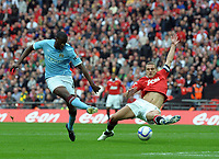 Wembley Stadium Manchester City  v Manchester United FA Cup Semi Final 16/04/2011<br />