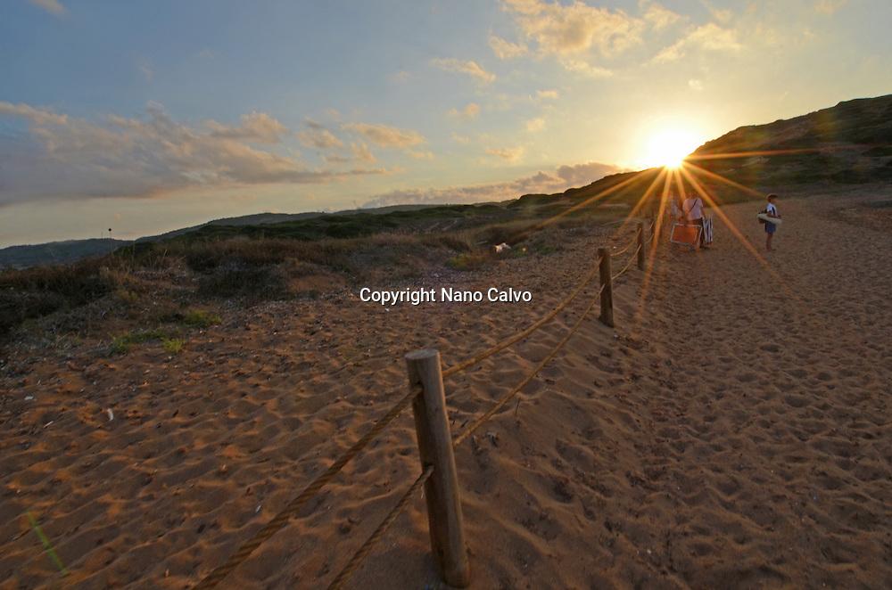 Landscape in the surroundings of Cala Pregonda, Menorca