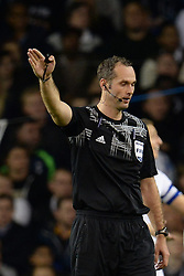 19.09.2013, White Hart Lane, London, ENG, UEFA Champions League, Tottenham Hotspur vs Toromsoe IL, Gruppe K, im Bild referee Libor Kovarik during UEFA Champions League group K match between Tottenham Hotspur vs Toromsoe IL at the White Hart Lane, London, United Kingdom on 2013/09/19 . EXPA Pictures © 2013, PhotoCredit: EXPA/ Mitchell Gunn <br /> <br /> ***** ATTENTION - OUT OF GBR *****