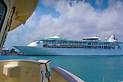 Cruise Ship,  Port of Miami, Dodge Island, Miami, Florida, Intracoastal Waterway, USA