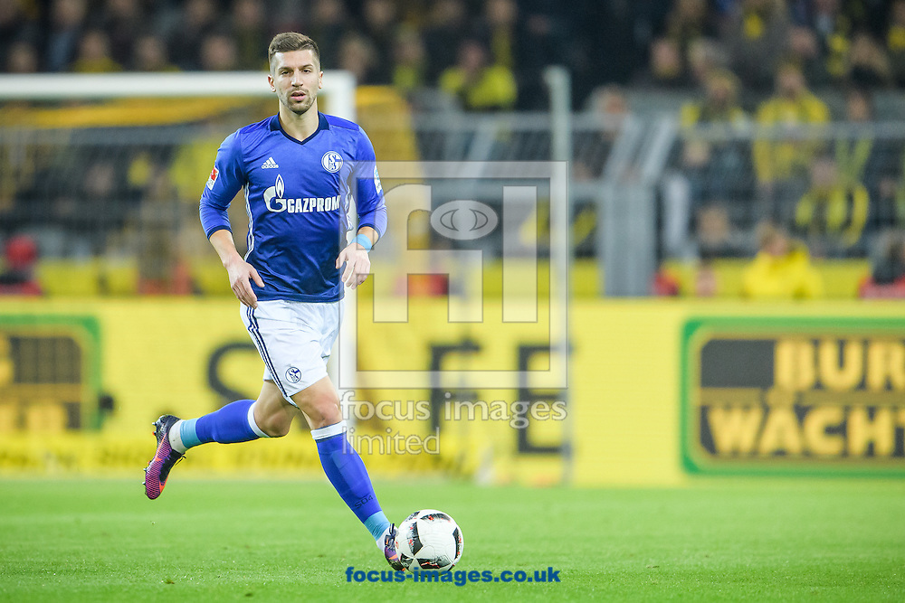 Matija Nastasic of FC Schalke 04 during the Bundesliga match at Signal Iduna Park, Dortmund<br /> Picture by EXPA Pictures/Focus Images Ltd 07814482222<br /> 29/10/2016<br /> *** UK &amp; IRELAND ONLY ***<br /> EXPA-EIB-161030-0030.jpg