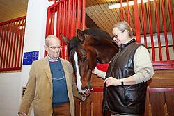 Leon en Judy Ann Melchior met Taloubet Z<br /> Stoeterij Zangersheide - Lanaken 2011<br /> © Hippo Foto - Dirk Caremans