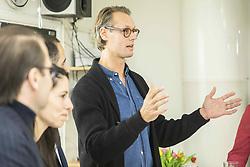 November 21, 2018 - Stockholm, Sweden - Jacob de Geer, VD iZettle,.Prins Daniels Fellowship och entreprenörskapsprogram, Kärrtorpsgymnasiet, Kärrtorp, Stockholm, 2018-11-21.(c) Ola Axman / IBL (Credit Image: © Ola Axman/IBL via ZUMA Press)