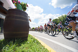 Amalie Dideriksen on Stage 2 of the Giro Rosa - a 122.2 km road race, between Zoppola and Montereale Valcellina on July 1, 2017, in Pordenone, Italy. (Photo by Sean Robinson/Velofocus.com)