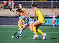 AMSTELVEEN - Agostina ALONSO (ARG)  . Semi Final Pro League  women, Argentina-Australia (1-1) . Austr. wns. COPYRIGHT KOEN SUYK