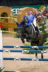 Melchior Judy Ann, BEL, Grand Dame Z<br /> World Cup Final Jumping - Las Vegas 2007<br /> © Hippo Foto - Dirk Caremans<br /> 20/04/2007