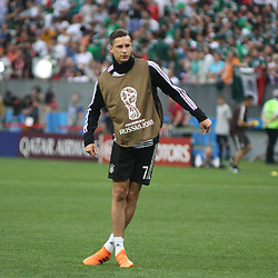 June 17, 2018 - Moscow, Russia - June 17, 2018, Russia, Moscow, FIFA World Cup, First round, Group F, Germany vs Mexico at the Luzhniki stadium. Player of the national team Julian Draxler. (Credit Image: © Russian Look via ZUMA Wire)