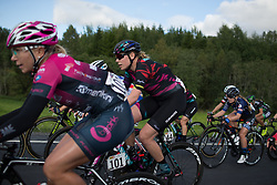 Mieke Kröger (GER) of CANYON//SRAM Racing rides mid-pack on Stage 1 of the Ladies Tour of Norway - a 101.5 km road race, between Halden and Mysen on August 18, 2017, in Ostfold, Norway. (Photo by Balint Hamvas/Velofocus.com)