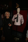 Caroline Baker, Drinks party to launch a new Thomas Pink shirt called The Mogul which has a pocket which houses one's cigar. Hostyed by the Spectator and Thomas Pink. Floridita. Wardour St. London. 1 November 2006. -DO NOT ARCHIVE-© Copyright Photograph by Dafydd Jones 66 Stockwell Park Rd. London SW9 0DA Tel 020 7733 0108 www.dafjones.com