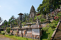 Front view of Pura Kehen Temple near Bangli in Eastern Bali Indonesia