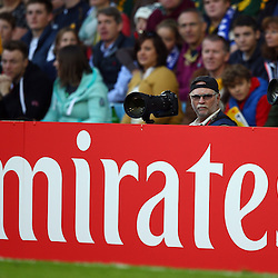 BIRMINGHAM, ENGLAND - SEPTEMBER 26:  during the Rugby World Cup 2015 Pool B match between South Africa and Samoa at Villa Park on September 26, 2015 in Birmingham, England. (Photo by Steve Haag/Gallo Images)