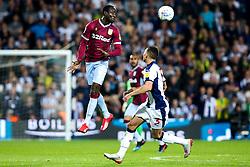 Albert Adomah of Aston Villa heads the ball - Mandatory by-line: Robbie Stephenson/JMP - 14/05/2019 - FOOTBALL - The Hawthorns - West Bromwich, England - West Bromwich Albion v Aston Villa - Sky Bet Championship Play-off Semi-Final 2nd Leg