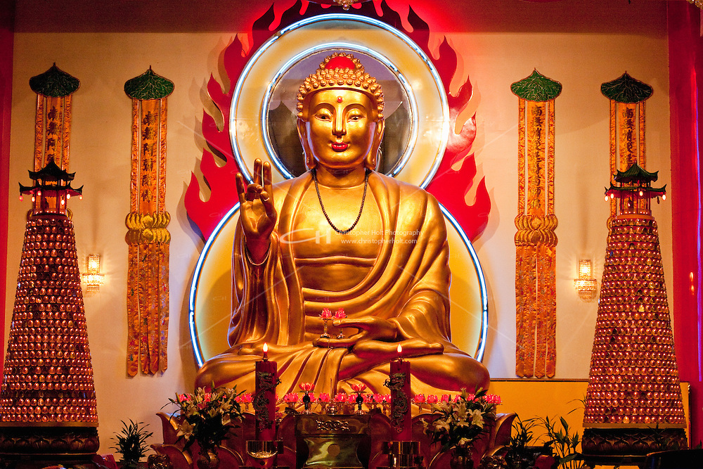 Mahayana Buddhist Temple in New York City October 2008