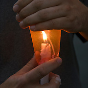 Candlelight Vigil, remembering of love ones who died of AIDS