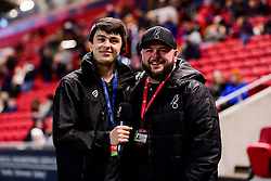 Ian Reed-Downs and Dan White - Mandatory by-line: Ryan Hiscott/JMP - 17/02/2020 - FOOTBALL - Ashton Gate Stadium - Bristol, England - Bristol City Women v Everton Women - Women's FA Cup fifth round