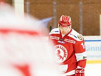 2018-12-30 | Ljungby, Sweden: Troja-Ljungby (19) Johan Andersson during the game between Troja Ljungby and Kristianstad IK at Ljungby Arena ( Photo by: Fredrik Sten | Swe Press Photo )<br /> <br /> Keywords: Icehockey, Ljungby, HockeyEttan, Troja Ljungby, Kristianstad IK, Ljungby Arena, AllEttan Södra