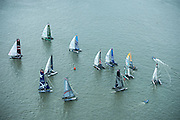 Day four of the Extreme Sailing Series regatta being sailed in Singapore. 23/2/2014