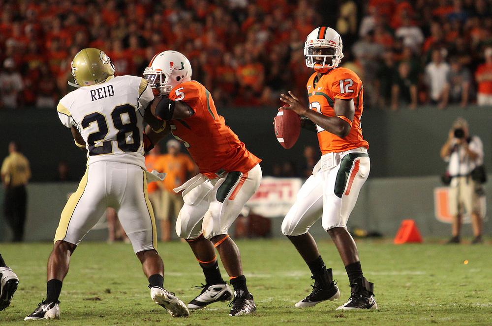 2009 Miami Hurricanes Football vs Georgia Tech