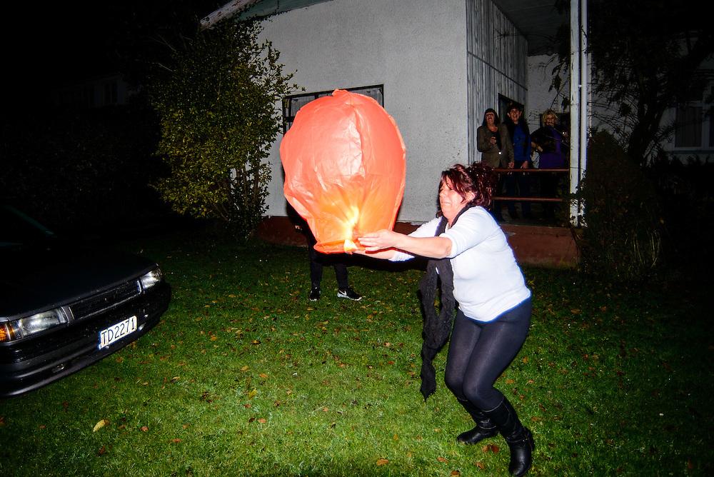 Martin, NEW ZEALAND - June 24:  Paula's 50th surprise Birthday June 24, 2016 in Marton, New Zealand.  (Photo by Elias Rodriguez/ eliasrodriguez.co.nz)