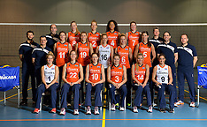 20151228 NED: Teamfoto Nederlands Volleybalteam vrouwen, Arnhem