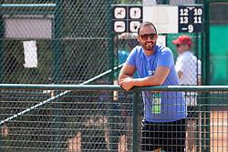 Aljaz Kos, director of ATP Zavarovalnica Sava Slovenia Open at ATP Challenger Zavarovalnica Sava Slovenia Open 2018, on August 4, 2018 in Sports centre, Portoroz/Portorose, Slovenia. Photo by Urban Urbanc / Sportida