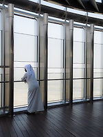 Emirati at Observation Deck, Burj Khalifa