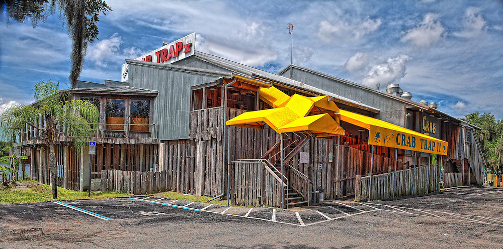 "Crab Trap II is located in Ellenton Florida on the north side of the Manatee River. Try the She Crab soup. It's to ""die for""."