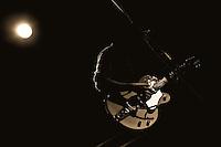 Lloyd's Garage guitarist Seth Heitzmann performs at The Uptown in Oakland, CA.  Copyright 2010 Reid McNally.