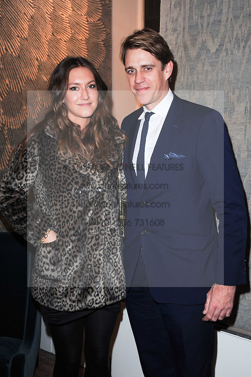 BEN ELLIOT and MARY-CLARE WINWOOD at the opening of Luke Irwin's showroom at 22 Pimlico Road, London SW1 on 24th November 2010.