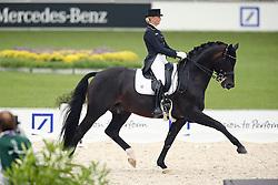 Von Bredow-Werndl Jessica, (GER), Unee BB<br /> European Championship Aachen 2015 - Dressage<br /> © Hippo Foto - Stefan Lafrentz