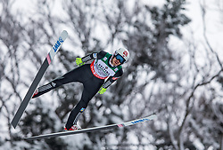 21.01.2118, Heini Klopfer Skiflugschanze, Oberstdorf, GER, FIS Skiflug Weltmeisterschaft, Teambewerb, im Bild Andreas Stjernen (NOR) // Andreas Stjernen of Norway during Team competition of the FIS Ski Flying World Championships at the Heini-Klopfer Skiflying Hill in Oberstdorf, Germany on 2118/01/21. EXPA Pictures © 2118, PhotoCredit: EXPA/ Peter Rinderer