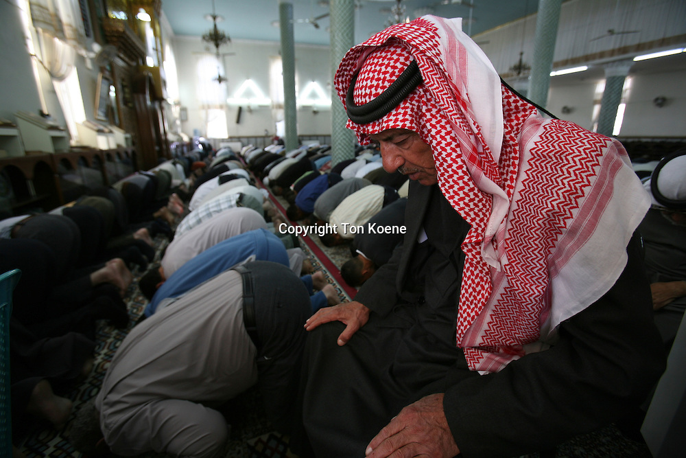 Mosque on friday in Amman, Jordan