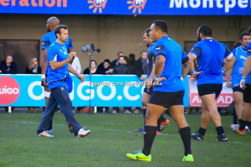 Fabien GALTHIE - 20.12.2014 - Montpellier / Stade Toulousain - 13eme journee de Top 14 -<br />Photo : Nicolas Guyonnet / Icon Sport