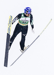 February 8, 2019 - Lahti, Finland - Yoshito Watabe competes during Nordic Combined, PCR/Qualification at Lahti Ski Games in Lahti, Finland on 8 February 2019. (Credit Image: © Antti Yrjonen/NurPhoto via ZUMA Press)