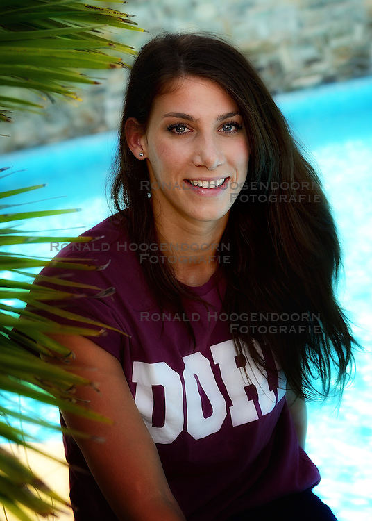 29-09-2014 ITA: World Championship Volleyball Persmoment Nederland, Verona<br /> Robin de Kruijf