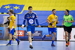 Darko Djukic of PGE Vive Kielce during handball match between RK Celje Pivovarna Lasko and PGE Vive Kielce in Group Phase A+B of VELUX EHF Champions League, on September 30, 2017 in Arena Zlatorog, Celje, Slovenia. Photo by Urban Urbanc / Sportida