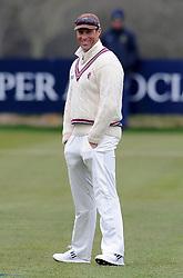 Somerset's Marcus Trescothick - Photo mandatory by-line: Harry Trump/JMP - Mobile: 07966 386802 - 23/03/15 - SPORT - CRICKET - Pre Season Fixture - Day 1 - Somerset v Glamorgan - Taunton Vale Cricket Club, Somerset, England.