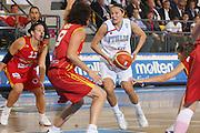 DESCRIZIONE : Ortona Italy Italia Eurobasket Women 2007 Italia Spagna Italy Spain <br /> GIOCATORE : Giorgia Sottana <br /> SQUADRA : Nazionale Italia Donne Femminile EVENTO : Eurobasket Women 2007 Campionati Europei Donne 2007 <br /> GARA : Italia Spagna Italy Spain <br /> DATA : 29/09/2007 <br /> CATEGORIA : Penetrazione Molten <br /> SPORT : Pallacanestro <br /> AUTORE : Agenzia Ciamillo-Castoria/S.Silvestri Galleria : Eurobasket Women 2007 <br /> Fotonotizia : Ortona Italy Italia Eurobasket Women 2007 Italia Spagna Italy Spain <br /> Predefinita :