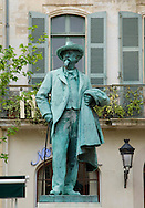 A statue of Van Gogh in Arles, France